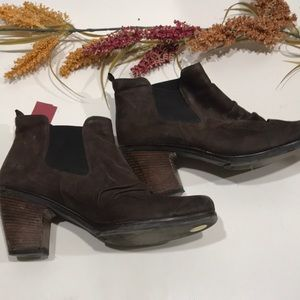 PAUL GREEN JANO CHELSEA suede leather ankle boot